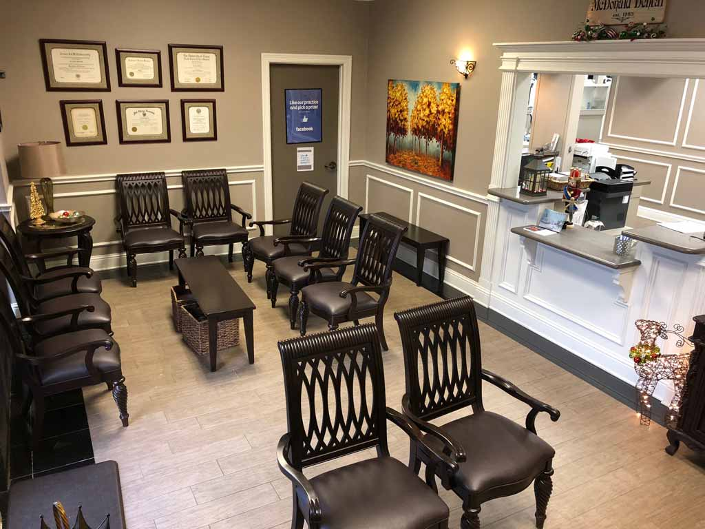 Waiting Area at McDonald Dental in Houston, TX